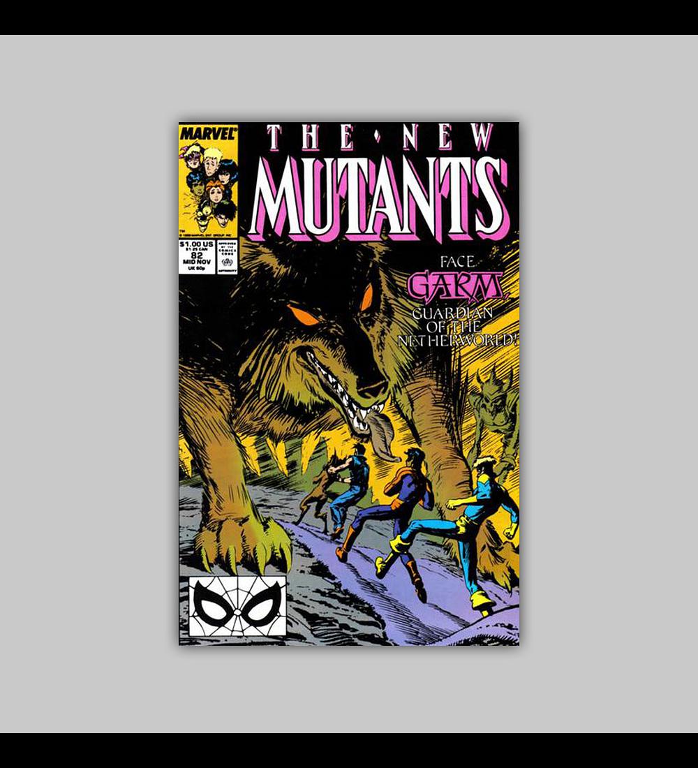 New Mutants 82 1989