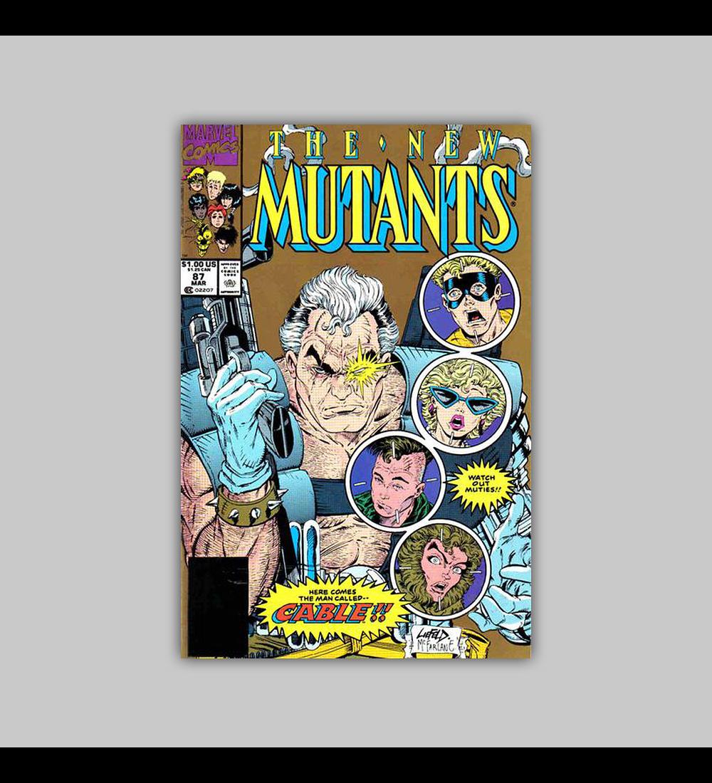 New Mutants 87 2ª. Edição 1990