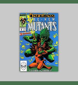 New Mutants 72 1989