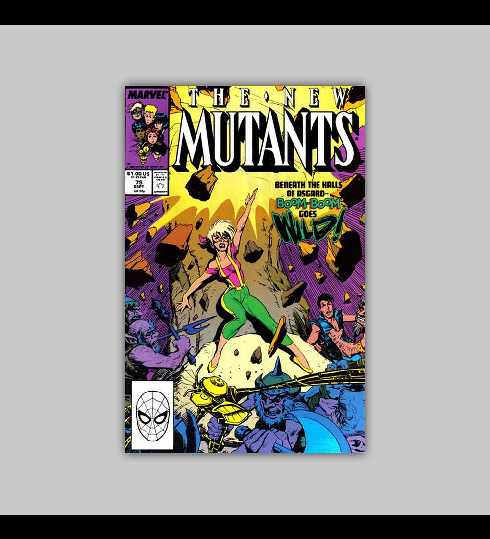 New Mutants 79 1989