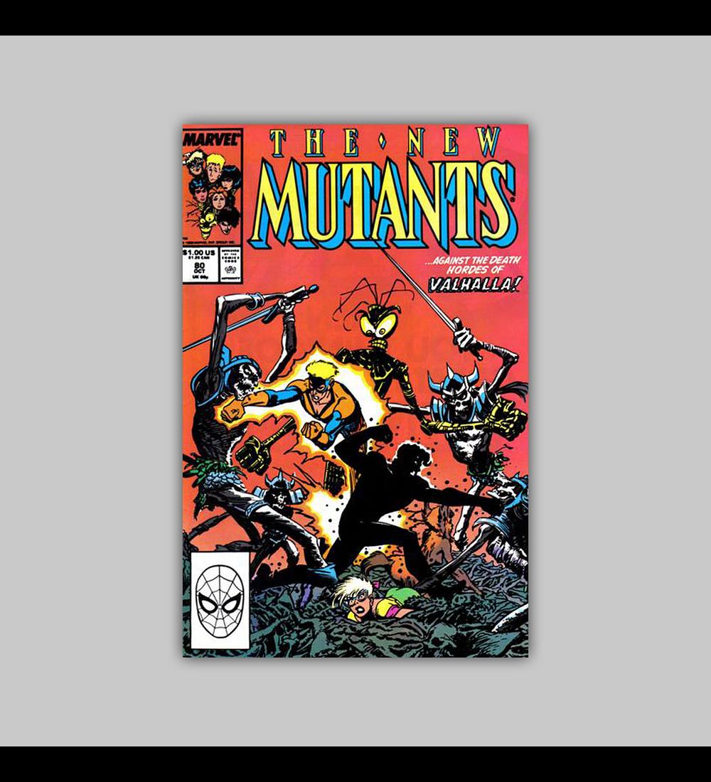 New Mutants 80 1989