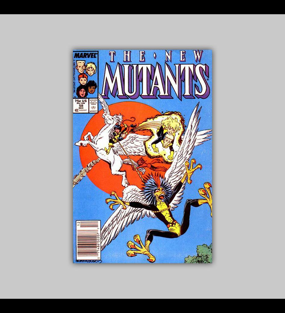 New Mutants 58 1987