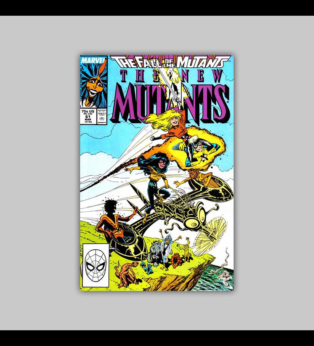 New Mutants 61 1988