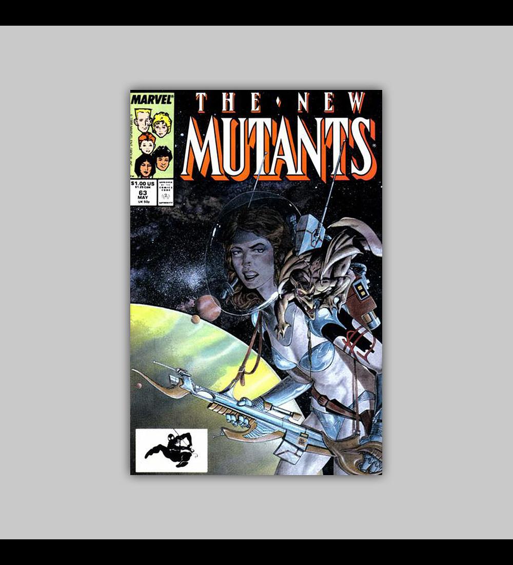 New Mutants 63 1988