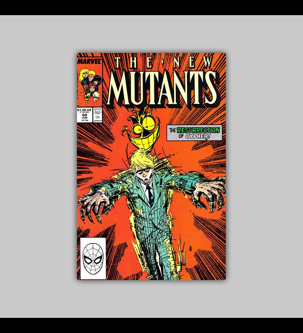 New Mutants 64 1988