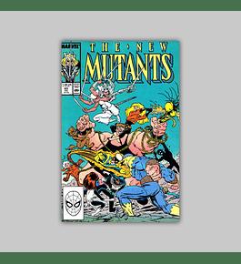 New Mutants 65 1988