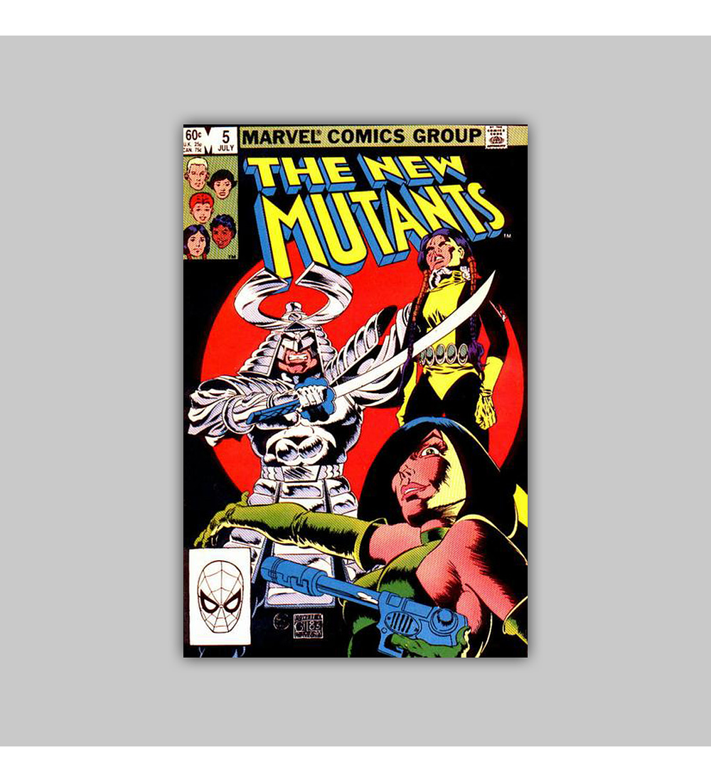 New Mutants 5 1983