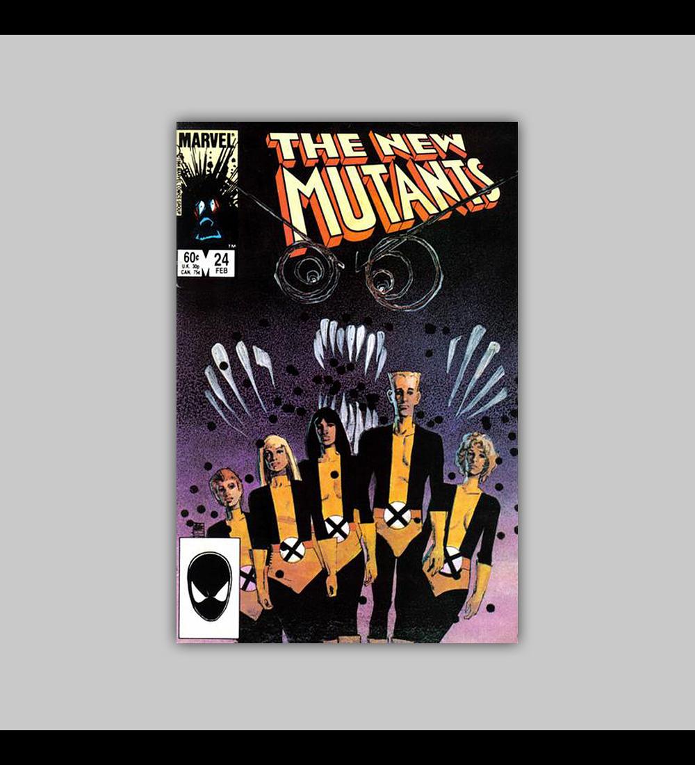 New Mutants 24 1985
