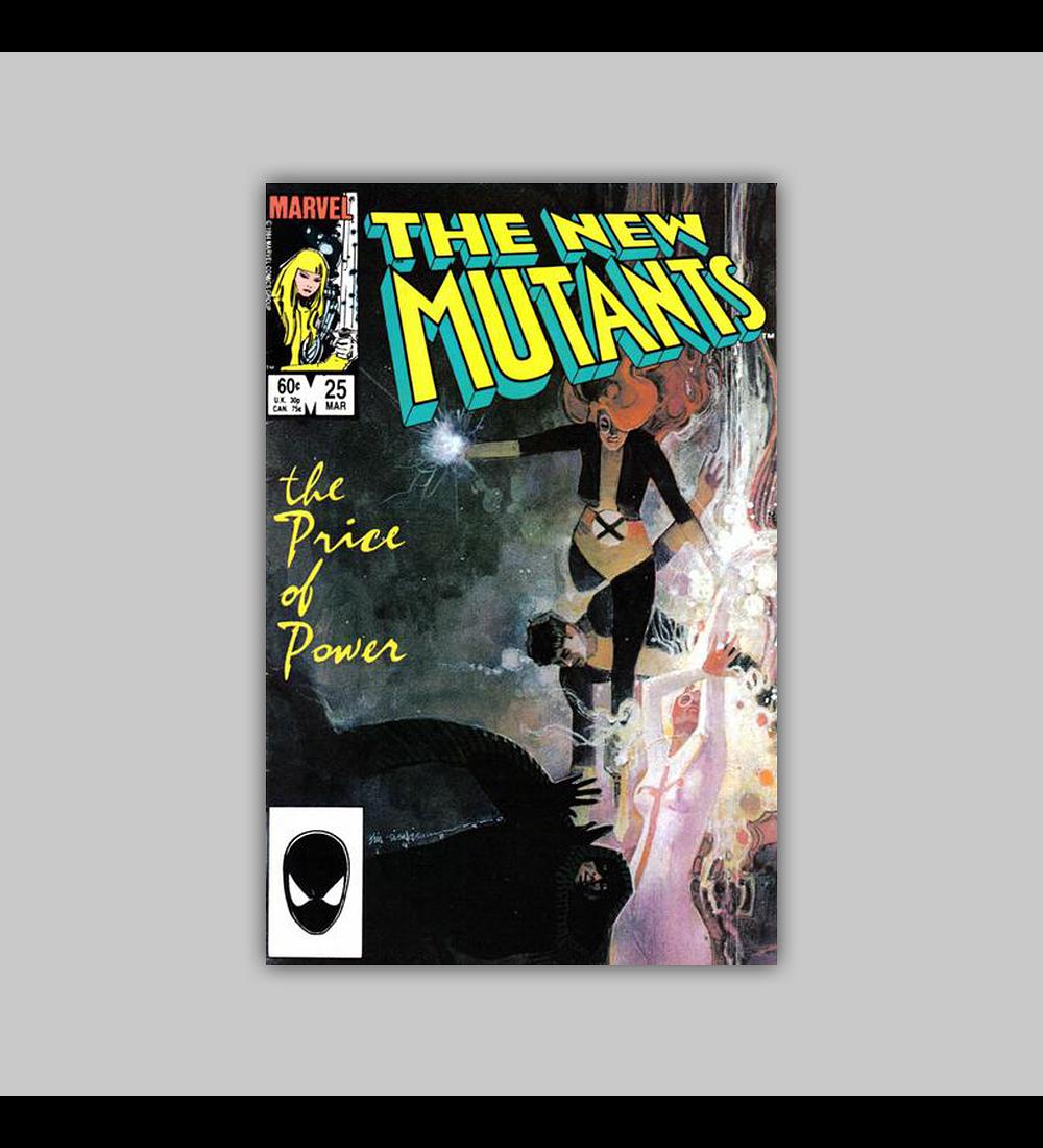 New Mutants 25 1985