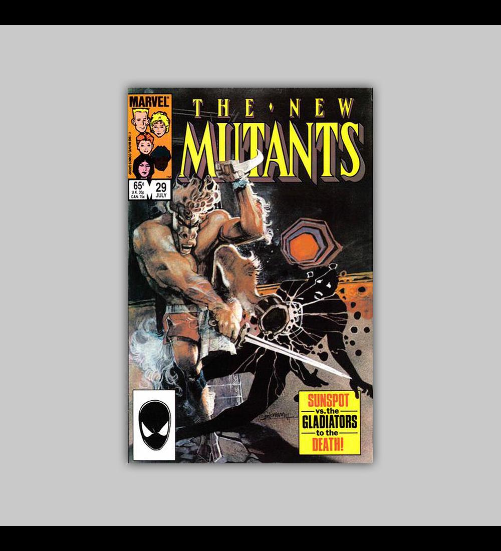 New Mutants 29 1985