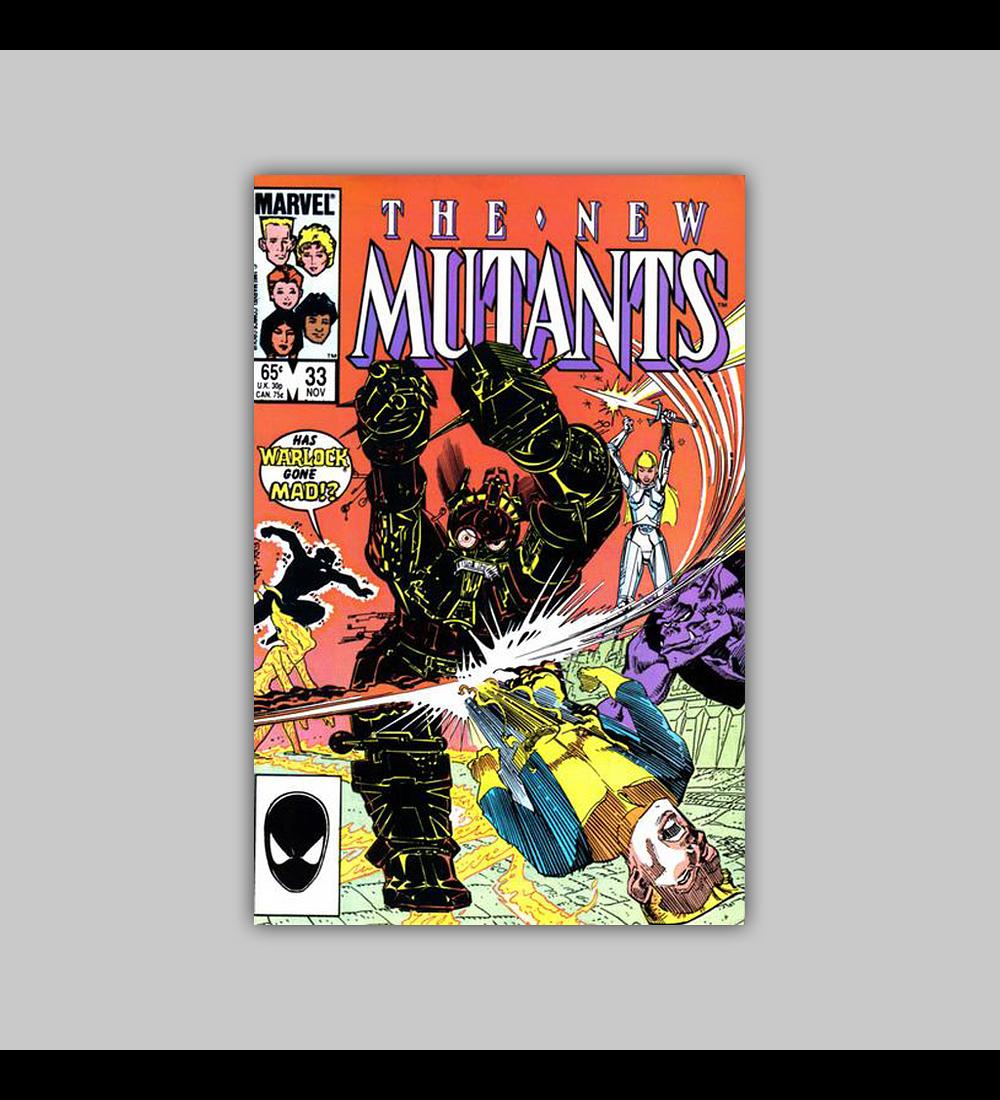 New Mutants 33 1985
