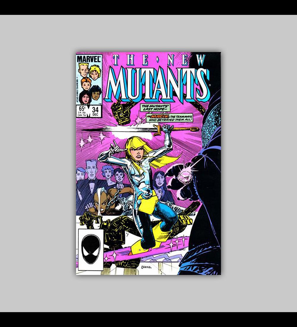 New Mutants 34 1985