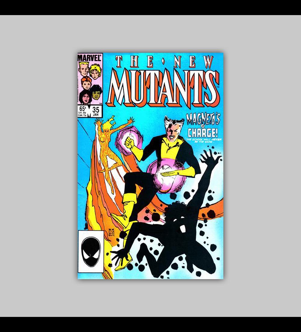 New Mutants 35 1986
