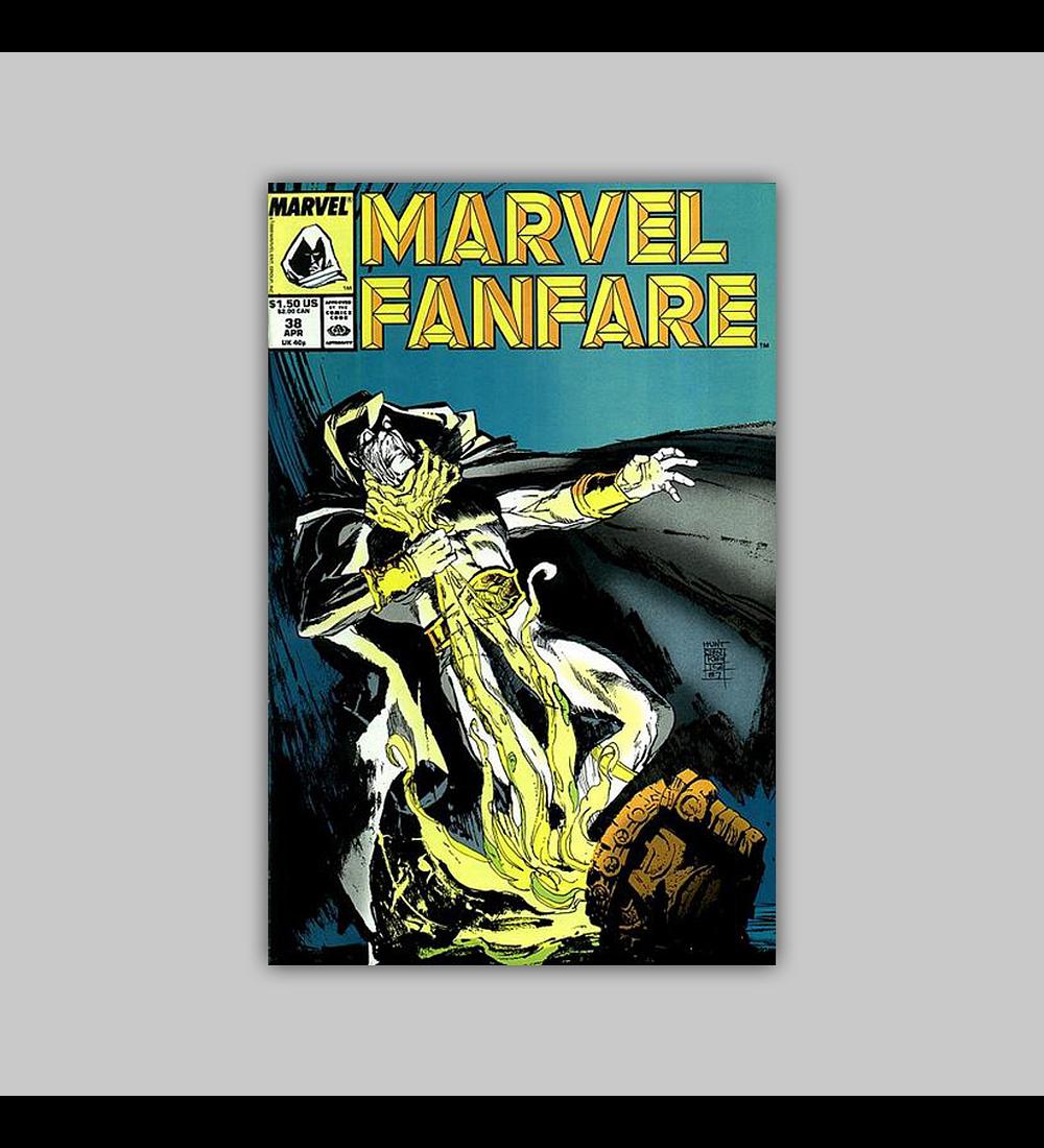 Marvel Fanfare 38 1988