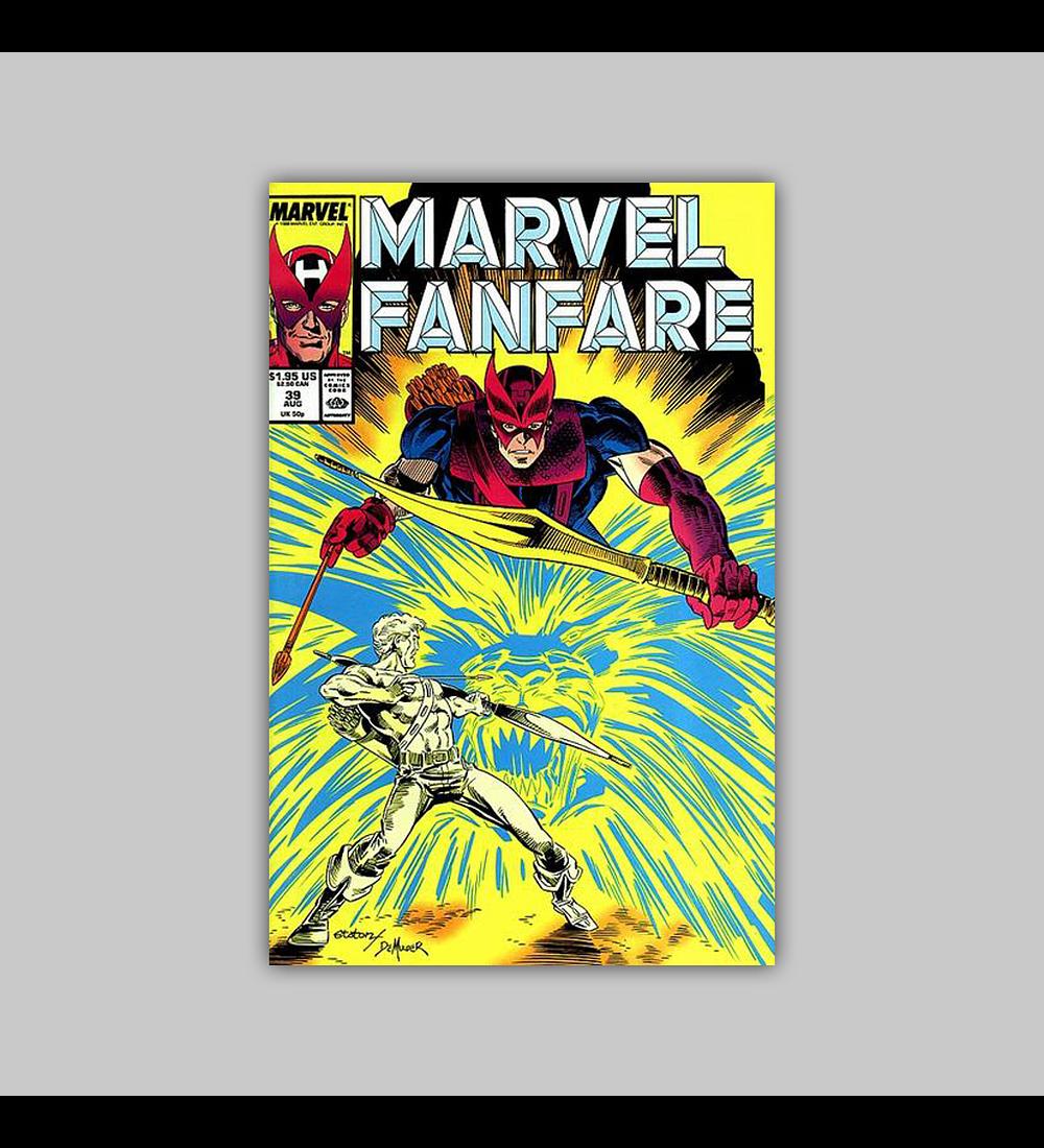 Marvel Fanfare 39 1988
