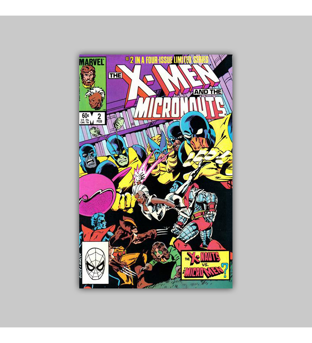 X-Men and the Micronauts 2 NM (9.4) 1984
