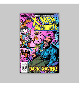 X-Men and the Micronauts 4 NM (9.4) 1984