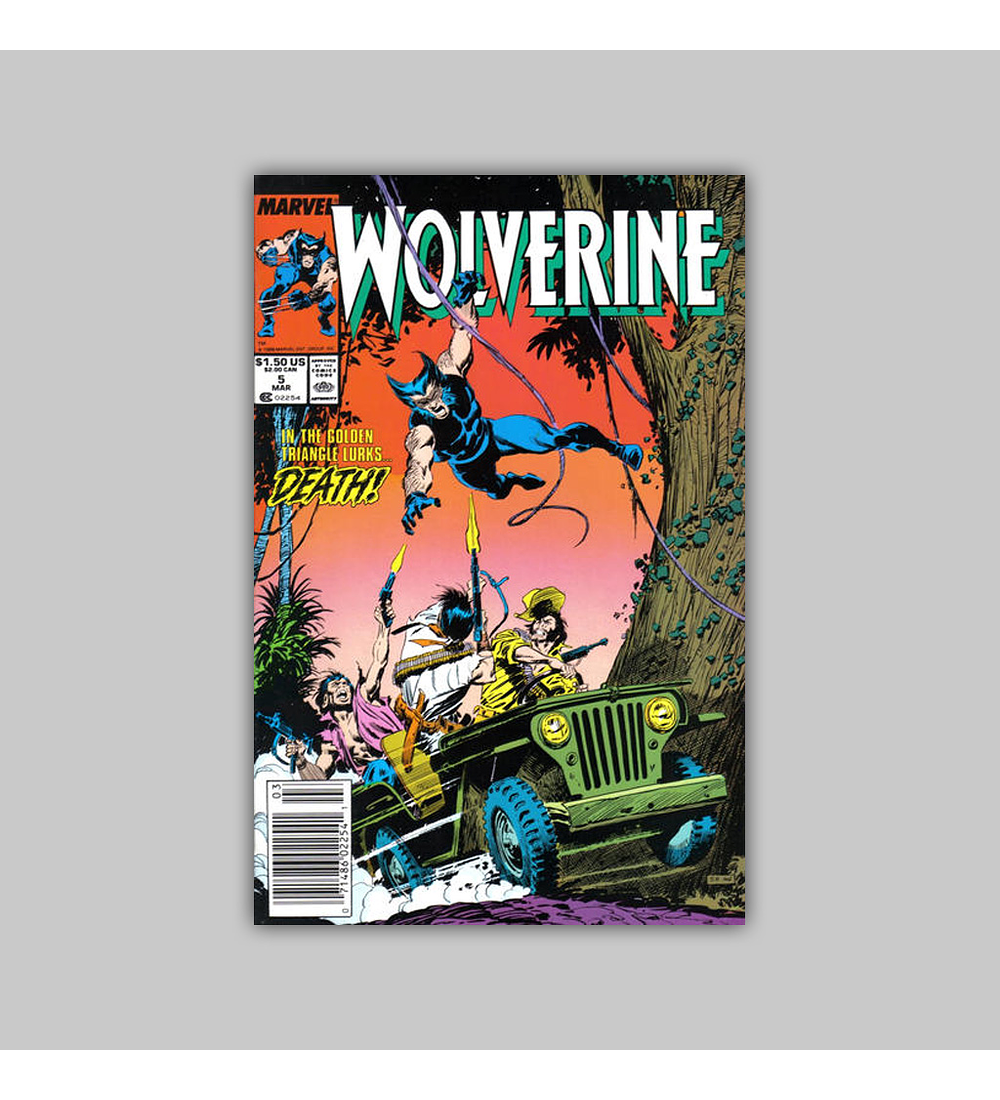 Wolverine 5 1989