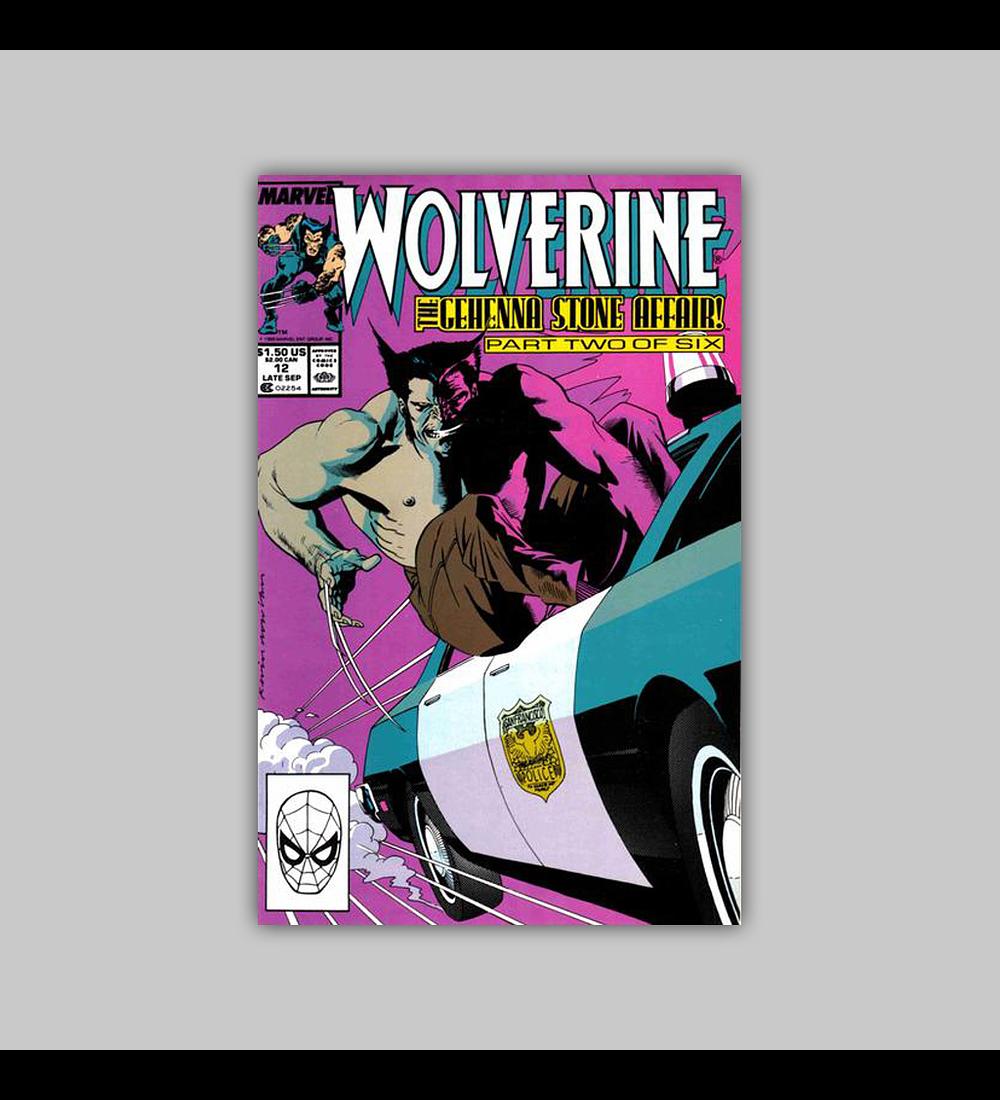 Wolverine 12 1989