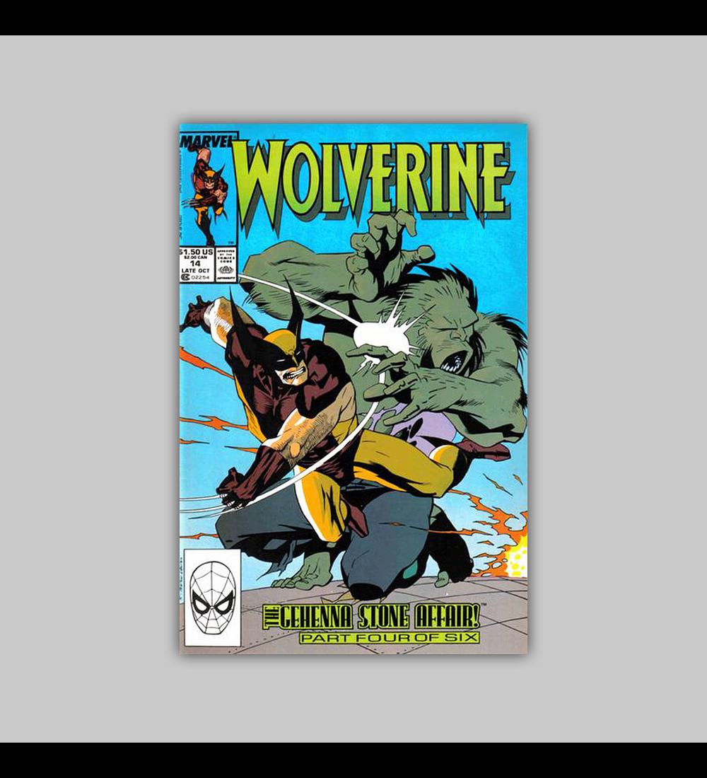 Wolverine 14 1989