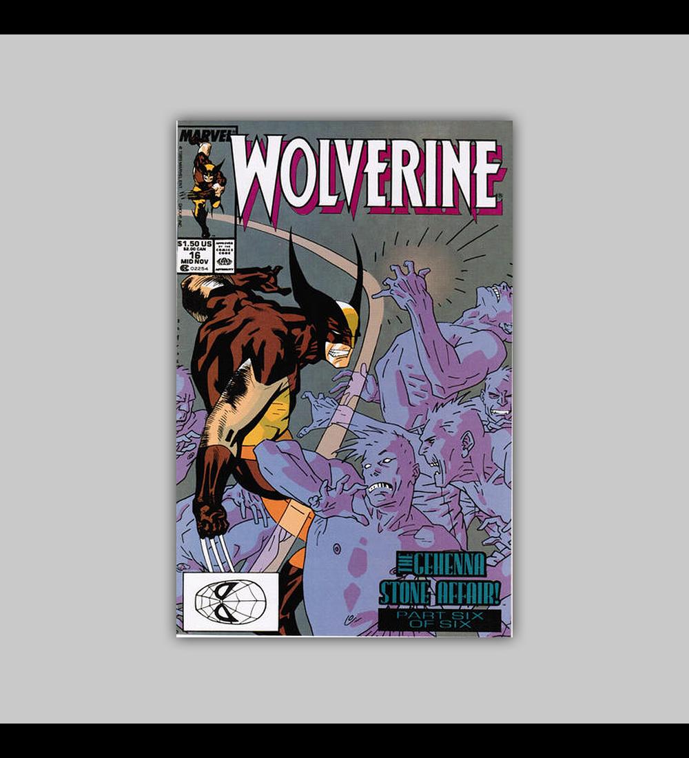 Wolverine 16 1989