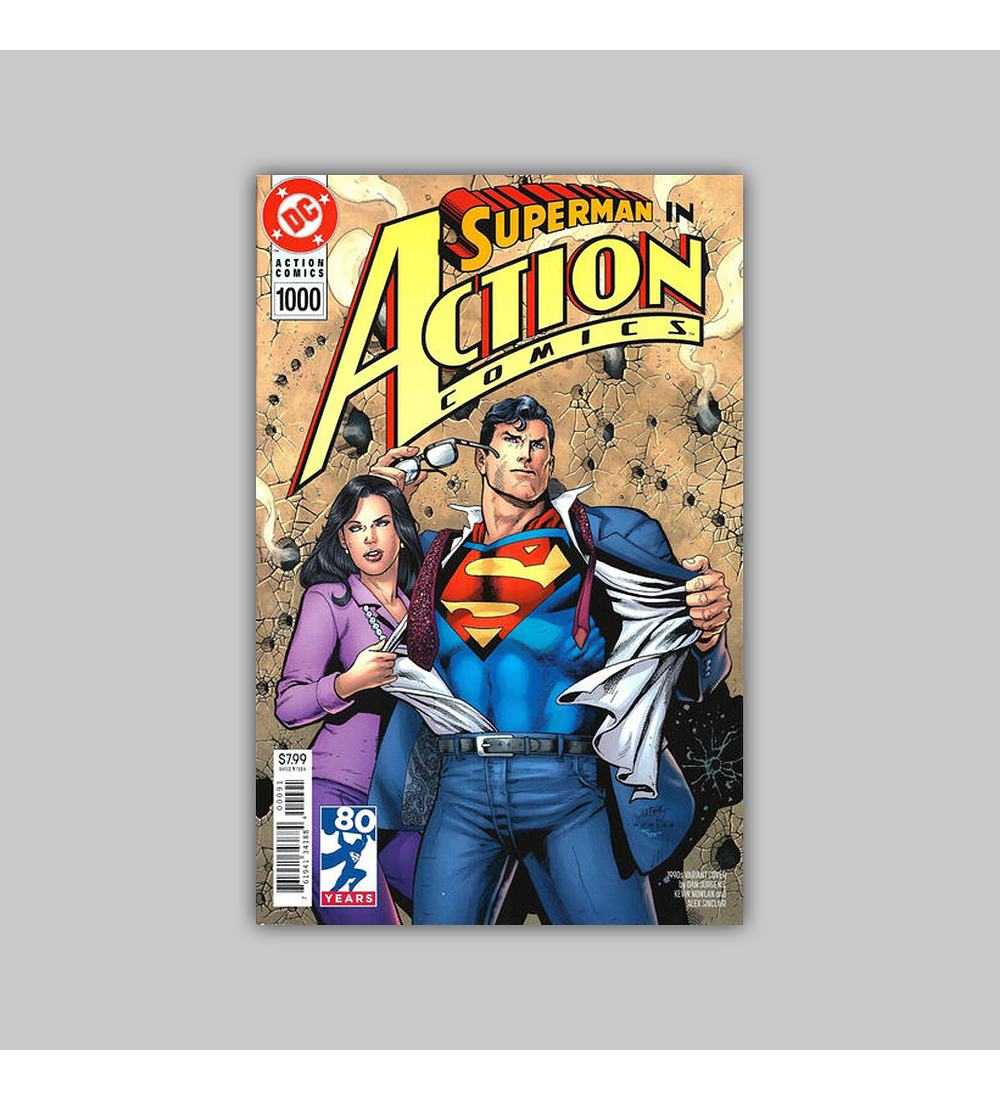 Action Comics 1000 1990 Variant 2018