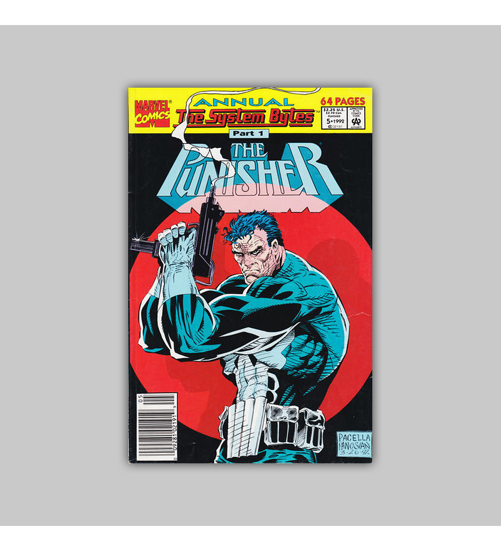 The Punisher Annual 5 1992