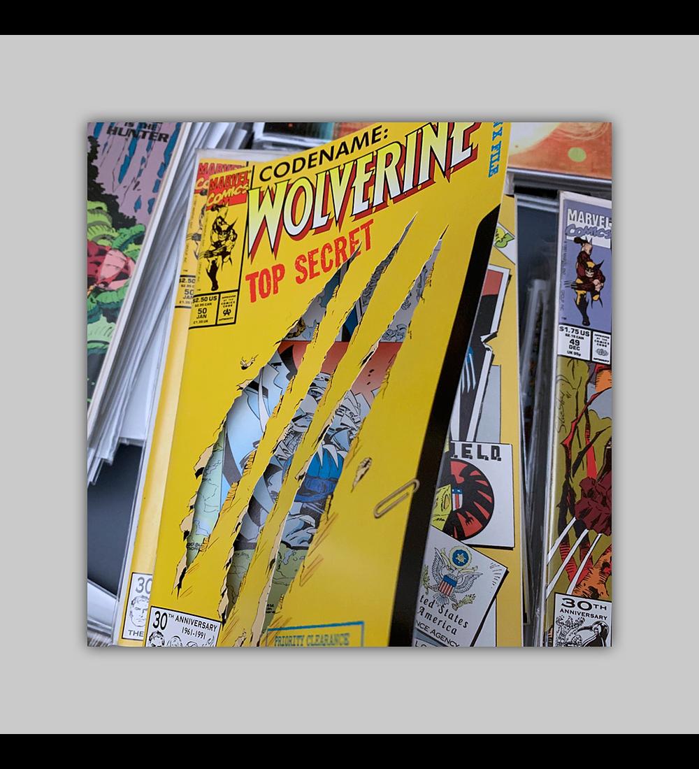 Wolverine 50 Die-Cut 1992