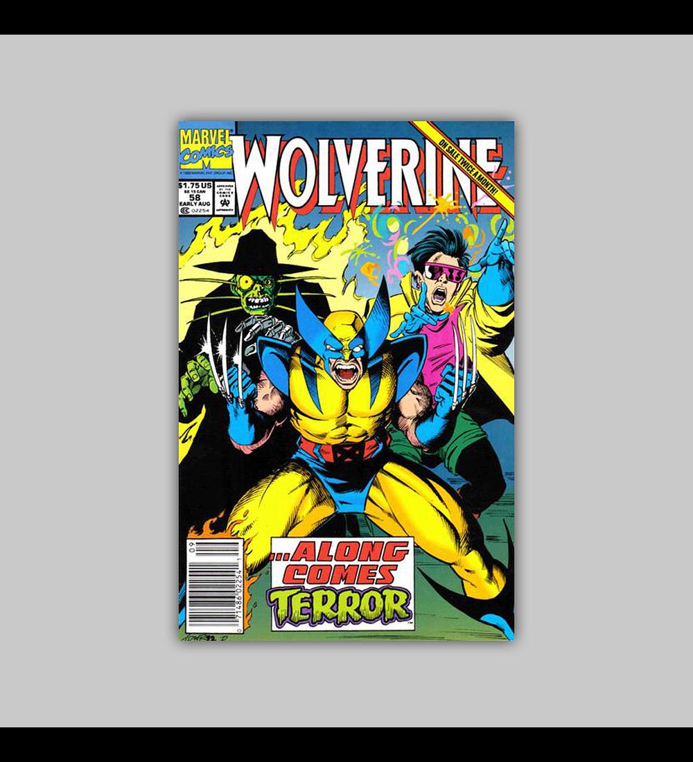 Wolverine 58 1992