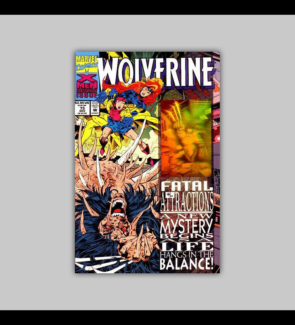 Wolverine 75 Hologram 1993