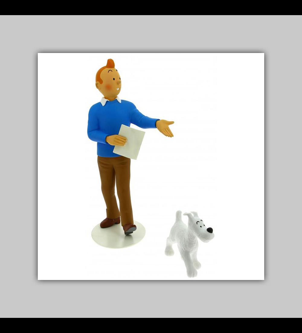 Musée Imaginaire: Statuette Tintin & Milou 2019
