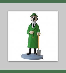 Tintin Figurine Résine: Tournesol À La Bêche 2019