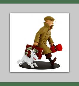 Tintin Figurine: Tintin et Milou - Il's Arrivent 2019