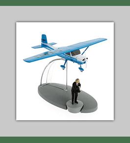 Tintin: Avion Bleu Muller de L'Île Noir 2019
