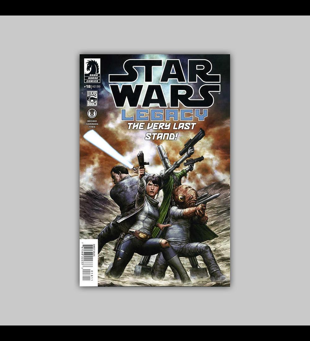 Star Wars: Legacy II 18 2014
