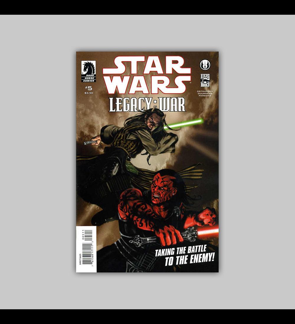 Star Wars: Legacy War 5 2011
