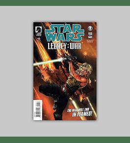 Star Wars: Legacy War 6 2011