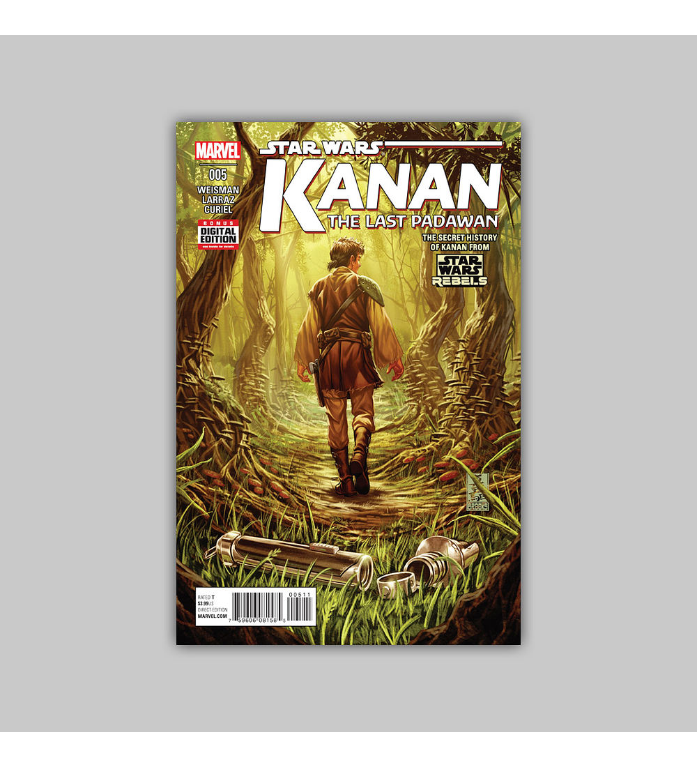 Star Wars: Kanan - The Last Padawan 5 2015