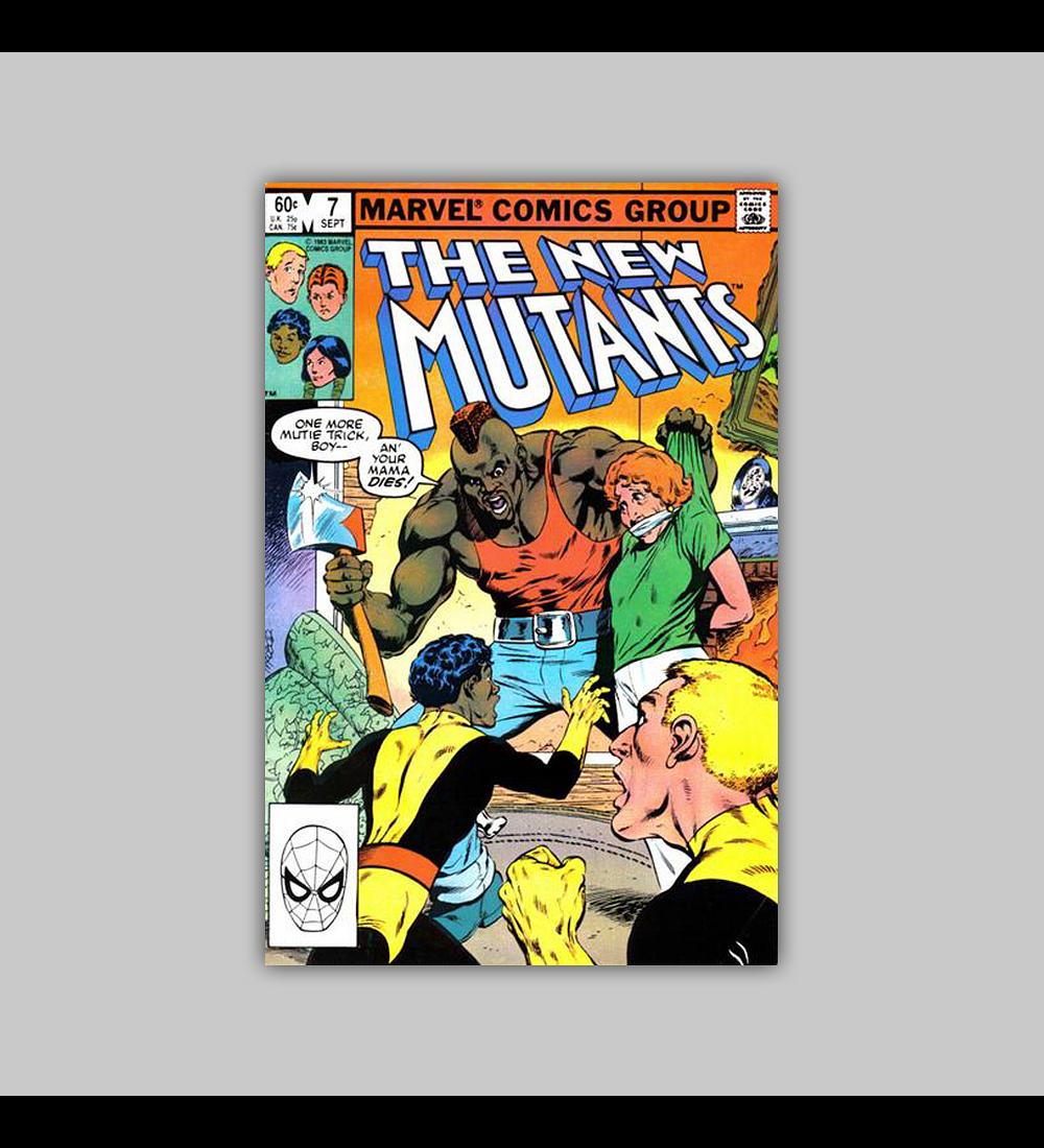 New Mutants 7 1983