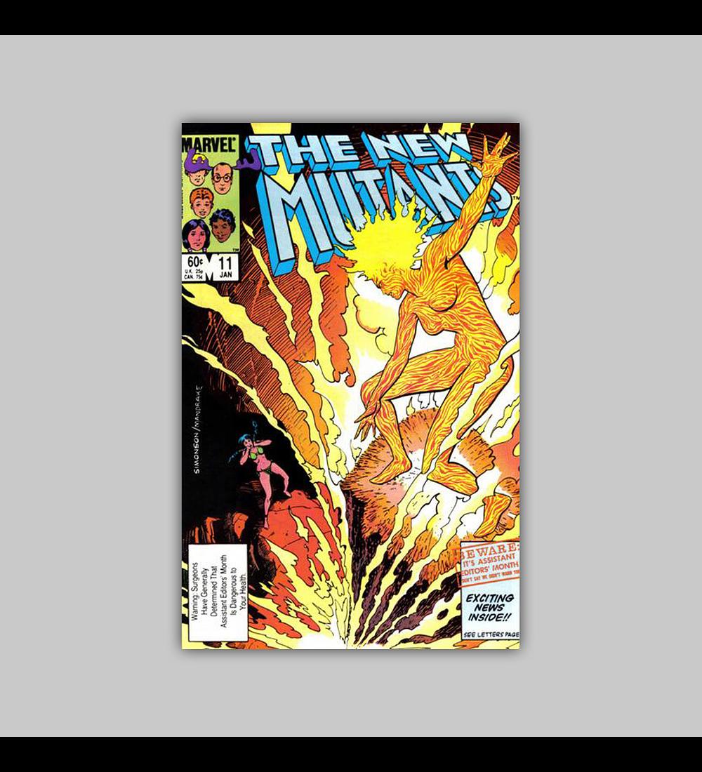 New Mutants 11 1984
