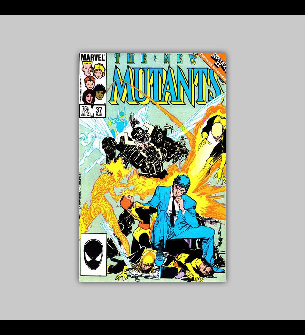 New Mutants 37 1986