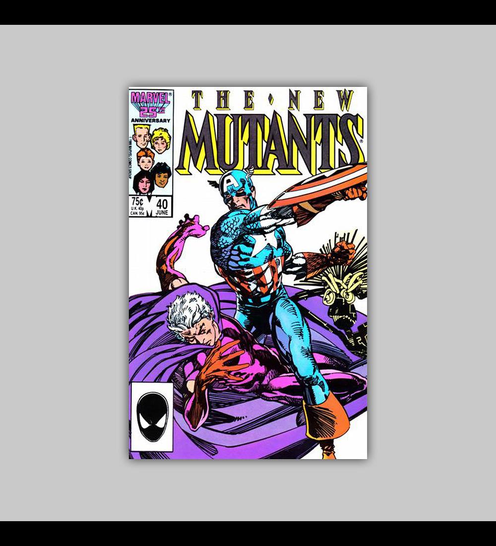 New Mutants 40 1986
