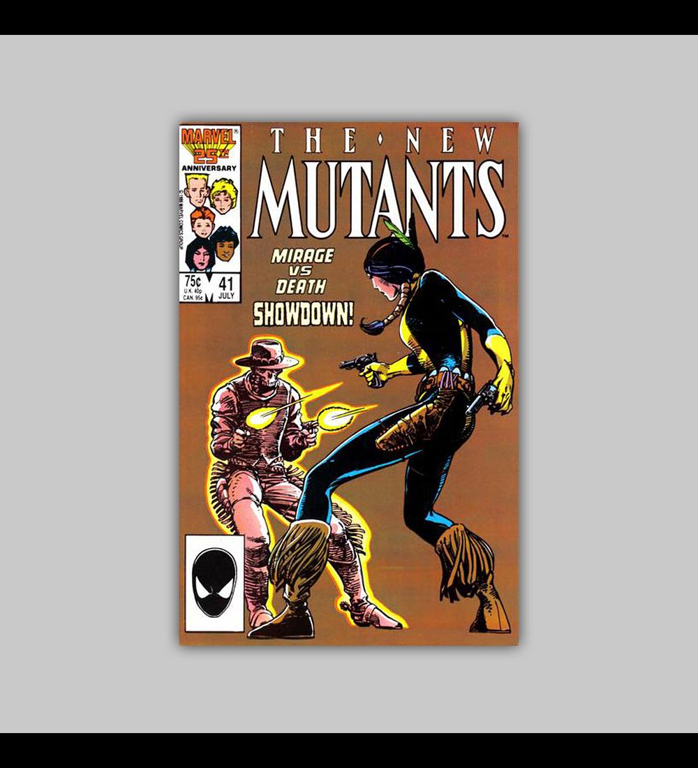 New Mutants 41 1986