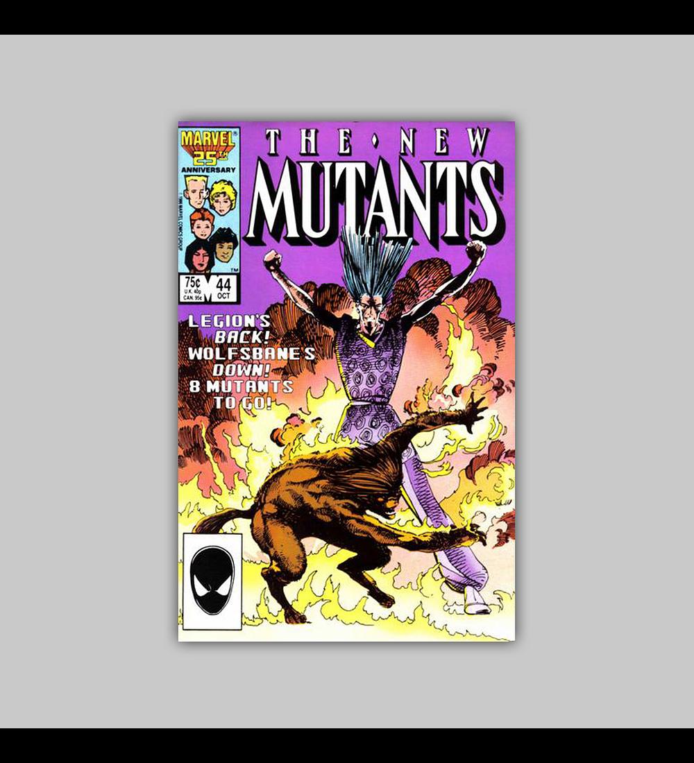 New Mutants 44 1986