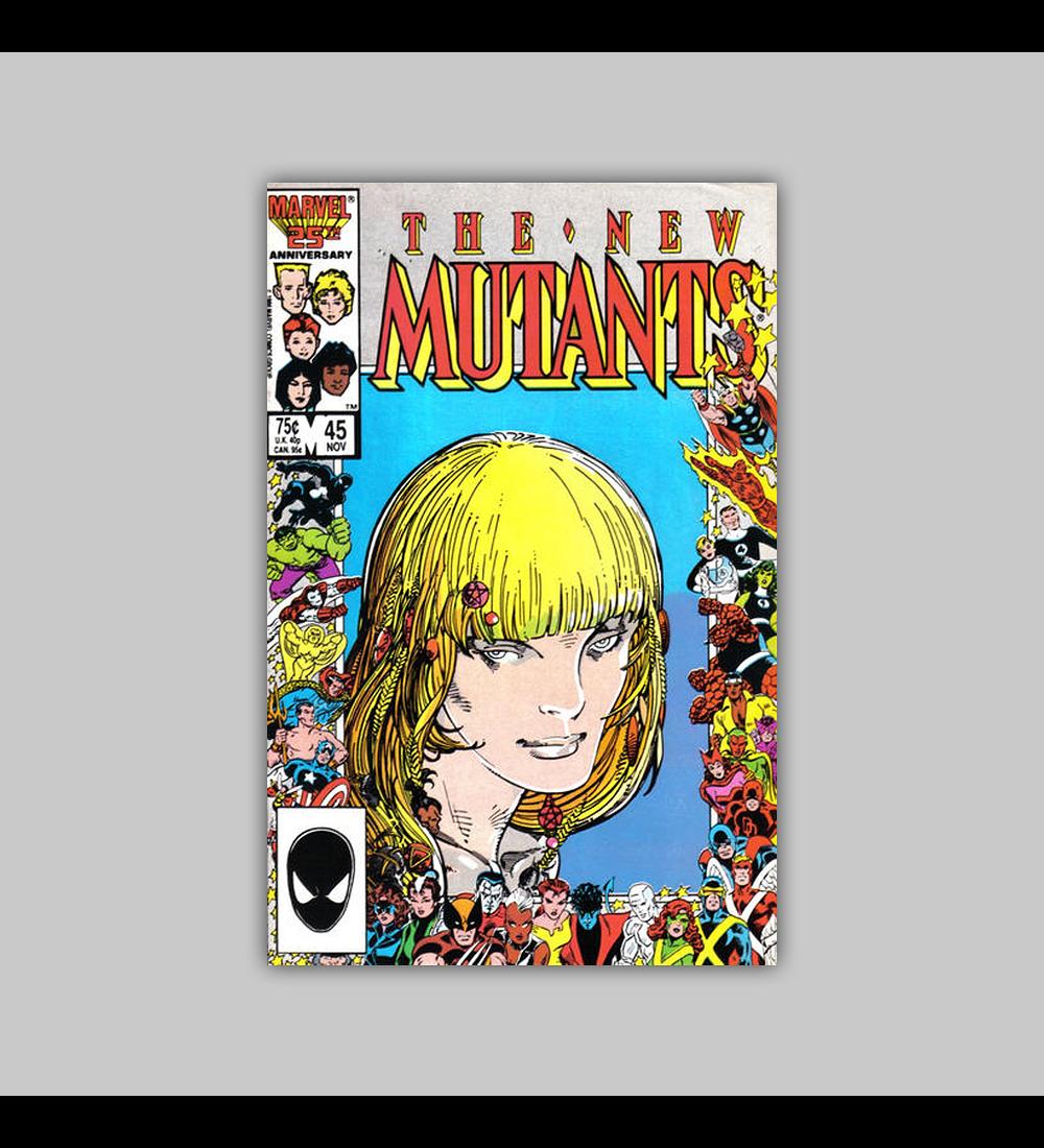 New Mutants 45 1986