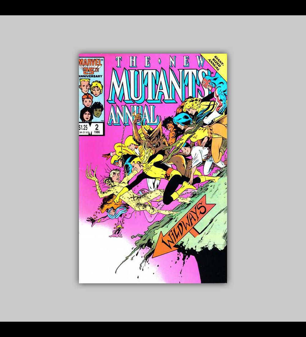 New Mutants Annual 2 1986