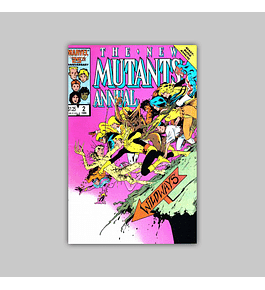 New Mutants Annual 2 1986