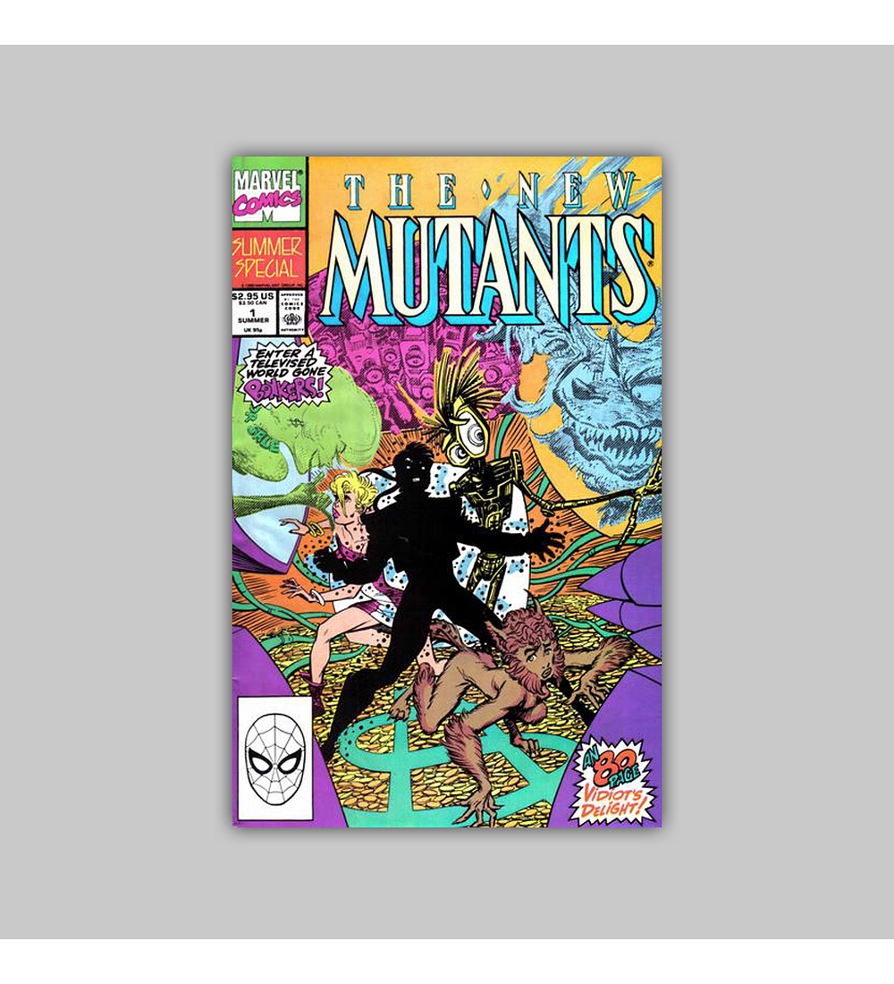 New Mutants Summer Special 1 1990
