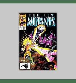 New Mutants 54 1987