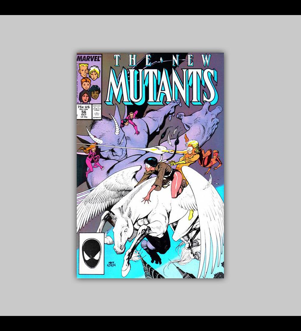 New Mutants 56 1987